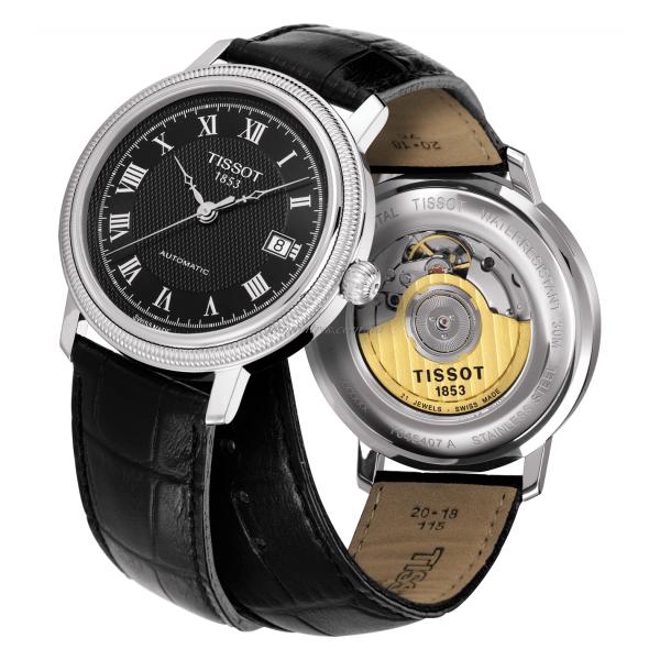 Часы мужские тиссот модель бриджепорт