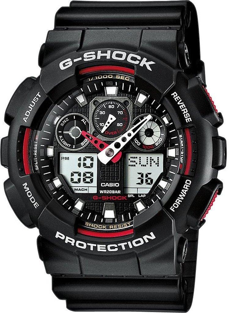 Годинник CASIO GA-100-1A4ER Купити годинник Касіо GA1001A4ER в Києві ... f7018d635620d
