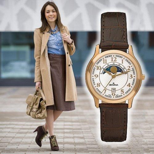 женские часы grovana