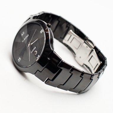 часы с керамическим браслетом мужские купить