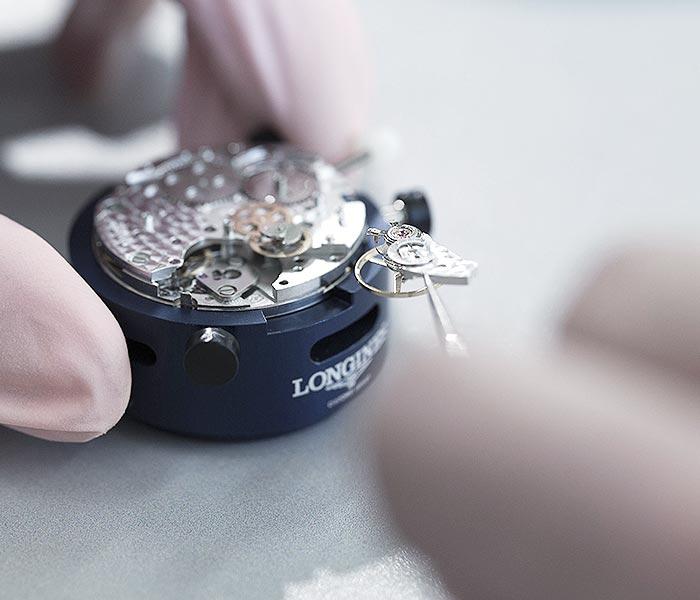 ремонт механических часов Лонжин