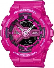 Чоловічий годинник CASIO GMA-S110MP-4A3ER
